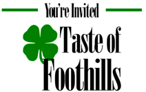 taste of foothills logo