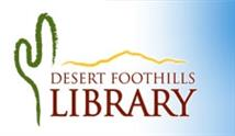 desert foothills library graphic