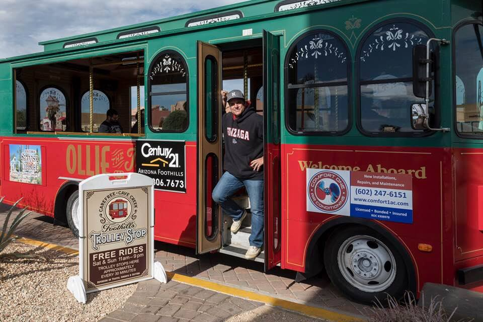 Foothills Trolley (Olley the Trolley!)